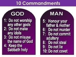 These Still Stand: The 10 COMMANDMENTS #OBEY